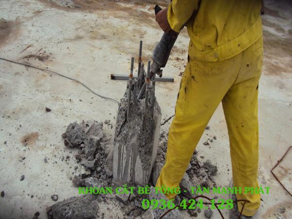 Khoan cắt bê tông ở phường Phúc Lợi